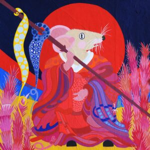 Year of the Rat in Scholarly Robes by Jean Tori