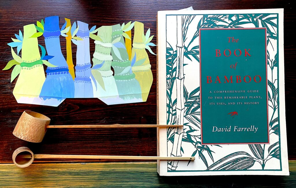 Bamboo Book, art by Jean Tori and Bamboo ladles
