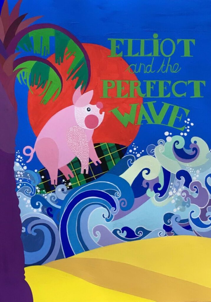 Elliot and the Perfect Wave by Jean Tori 2020