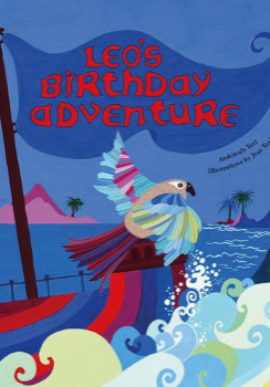 Leo's Birthday Adventure Children's Book Cover